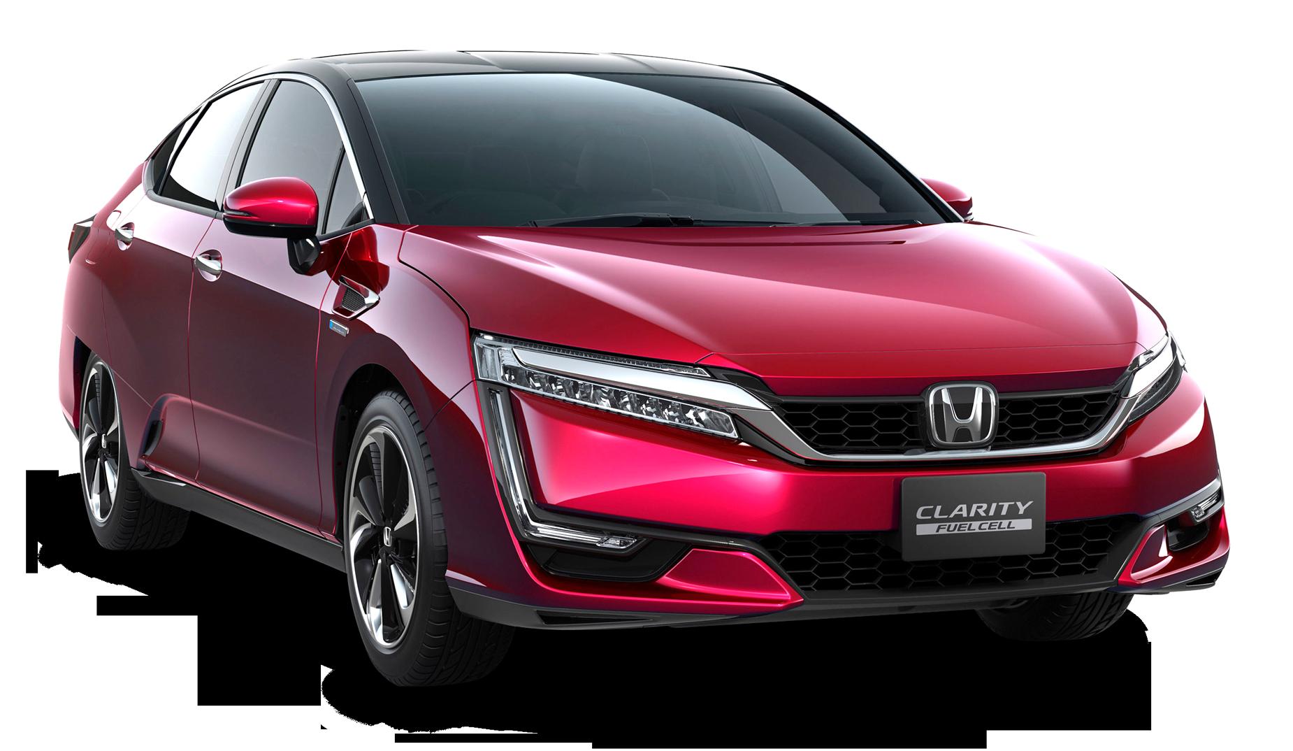 Red Honda Clarity Car