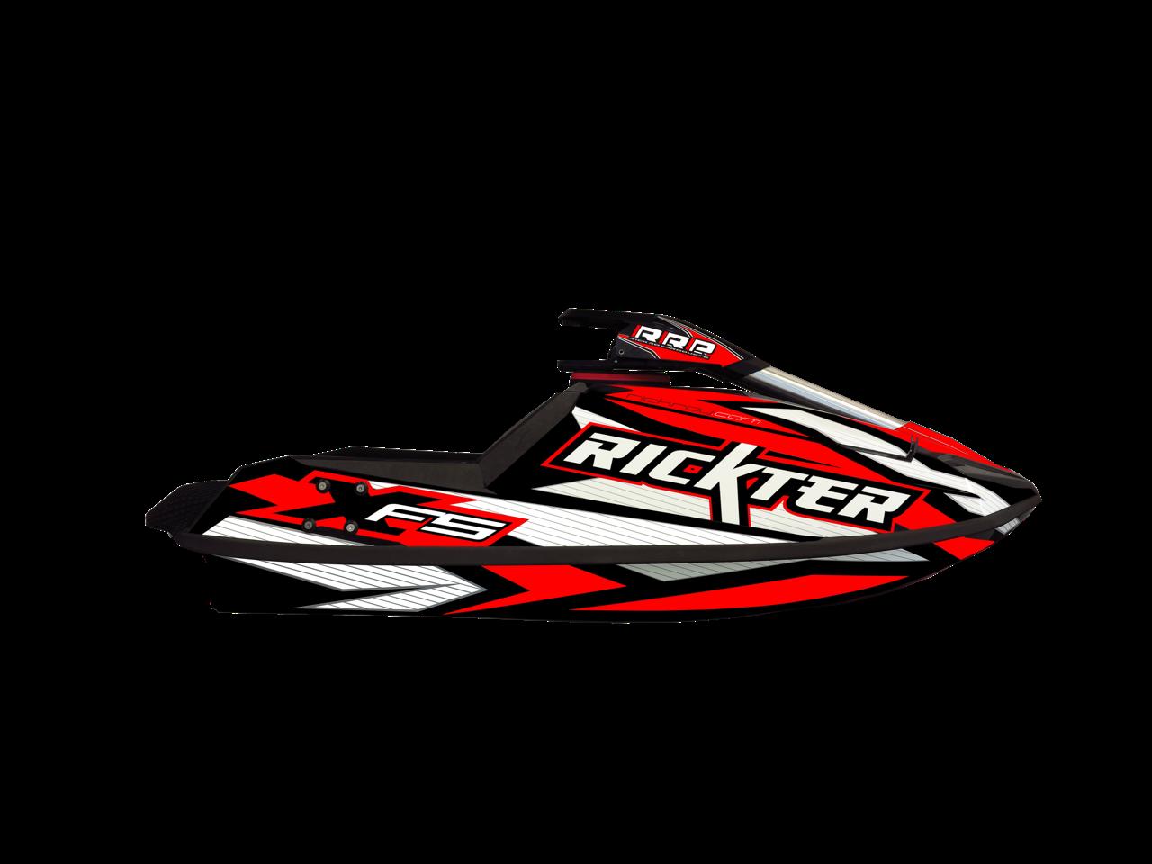 Red Jet Ski PNG Image