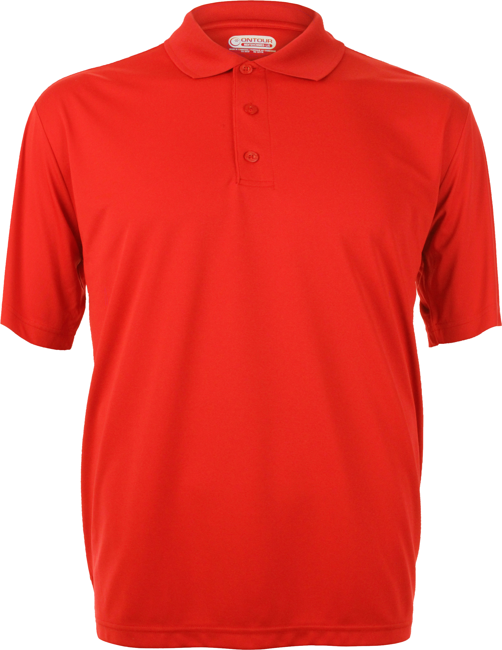 Red Polo Shirt PNG Image