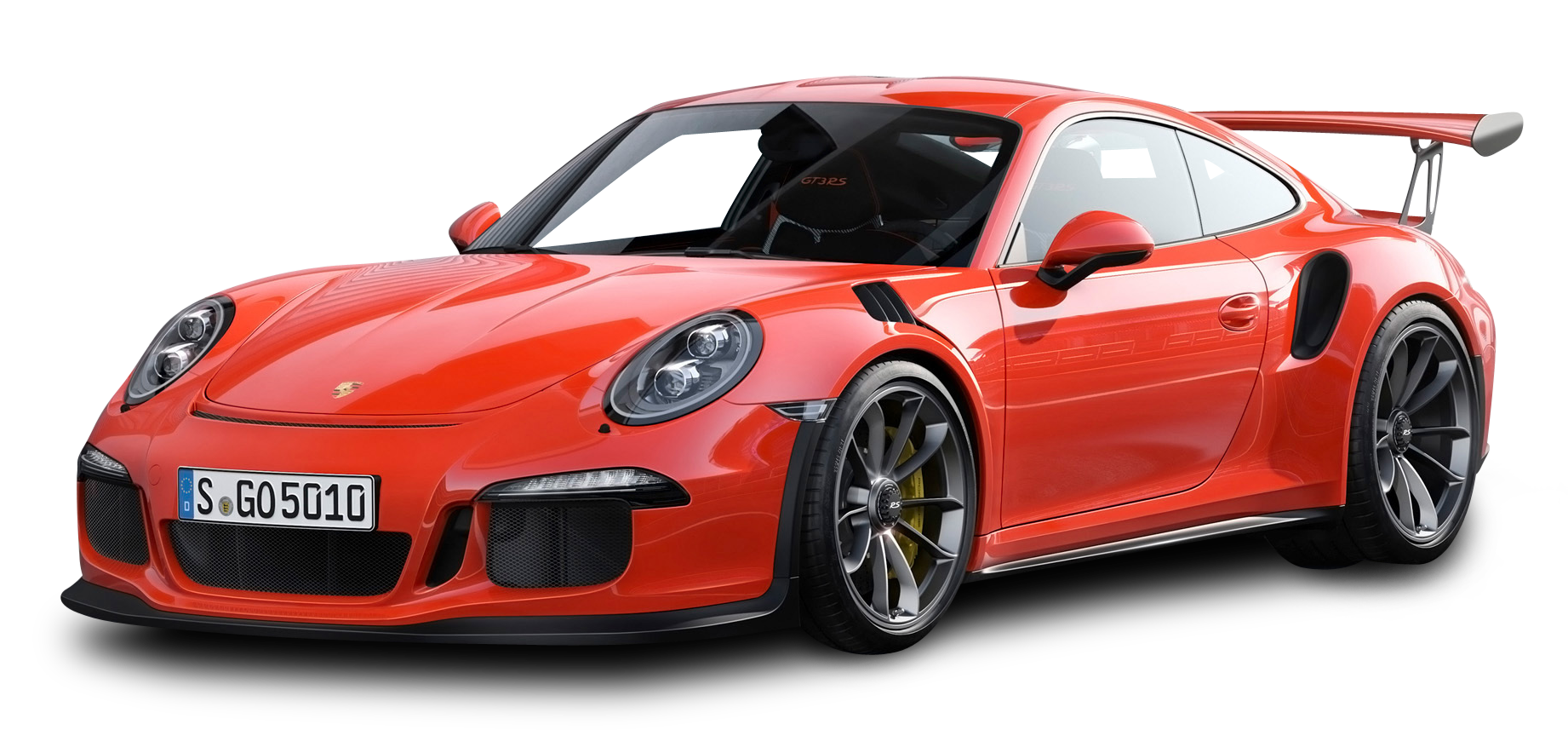 Red Porsche 911 GT3 RS 4 Car