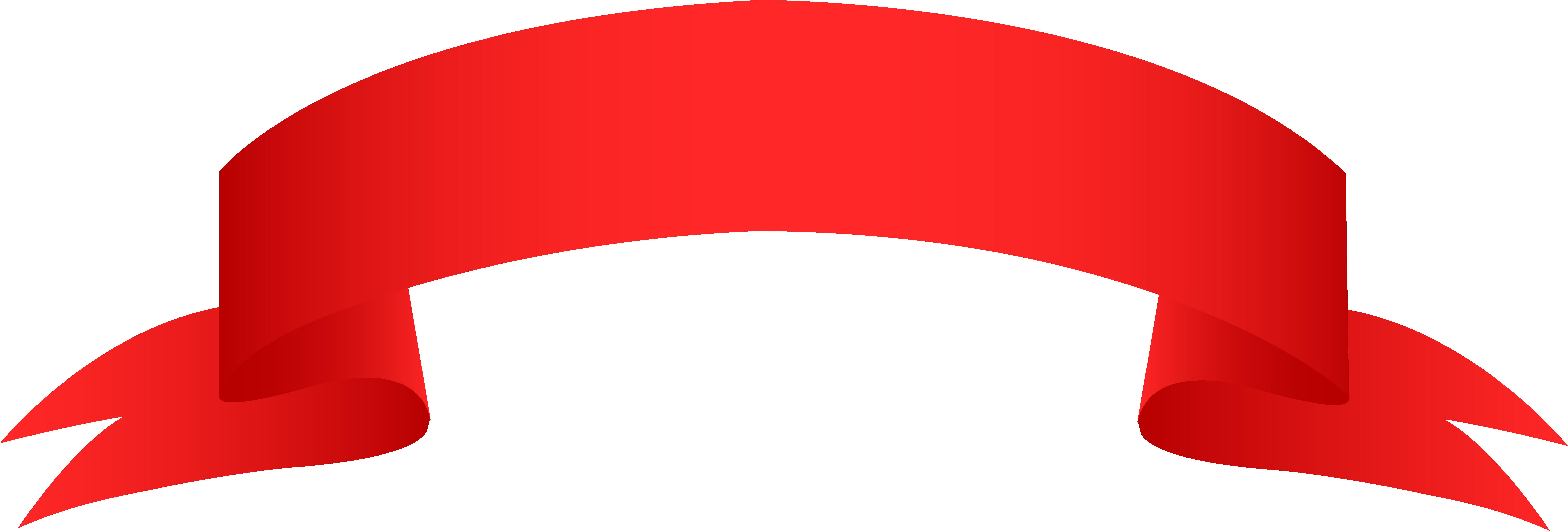 Red Ribbon PNG Image