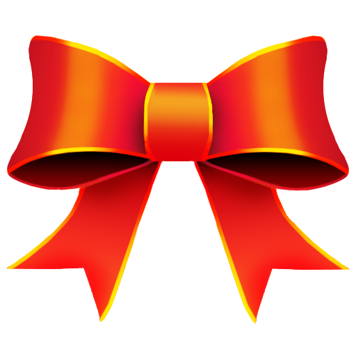 Red Bow PNG Image