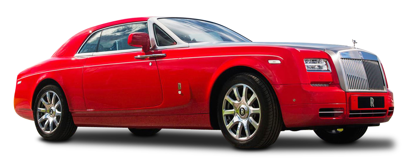 Red Rolls Royce Phantom Coupe Car