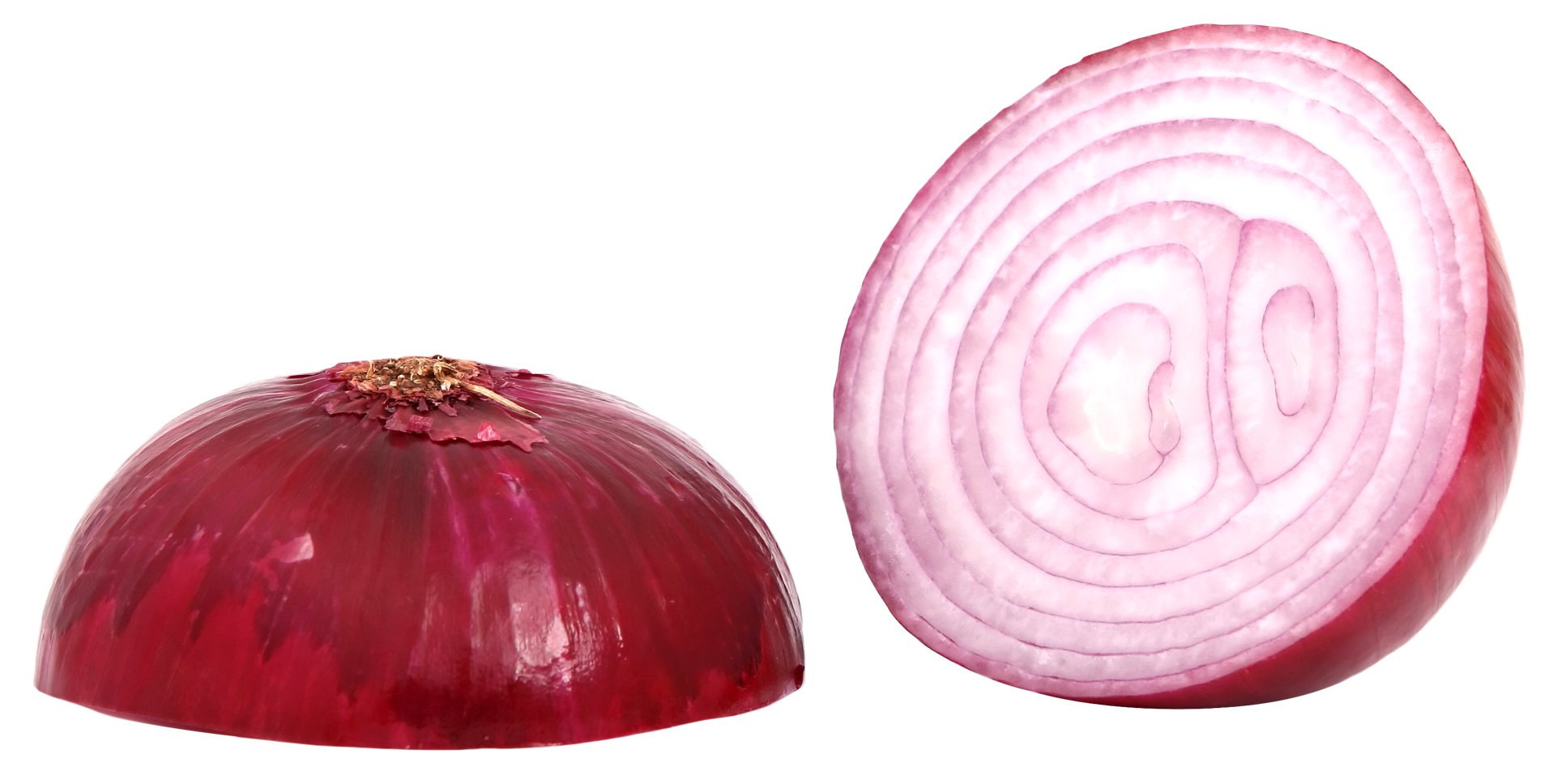 Red Sliced Onion