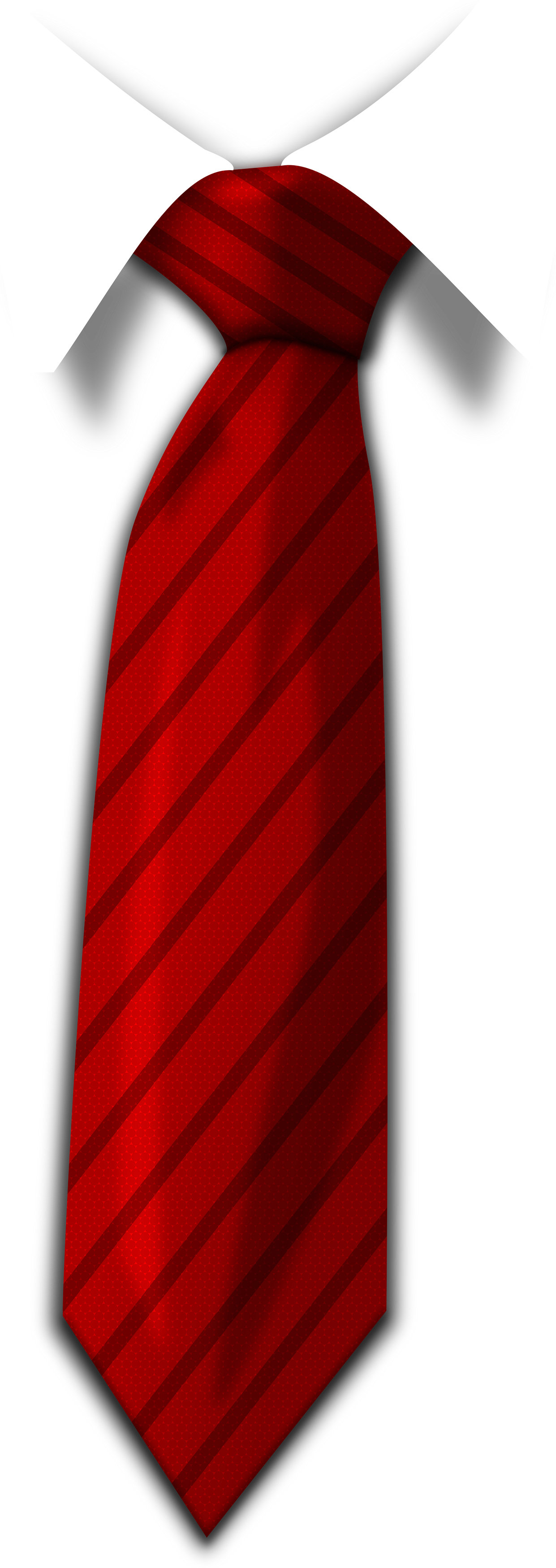 Red Tie PNG Image