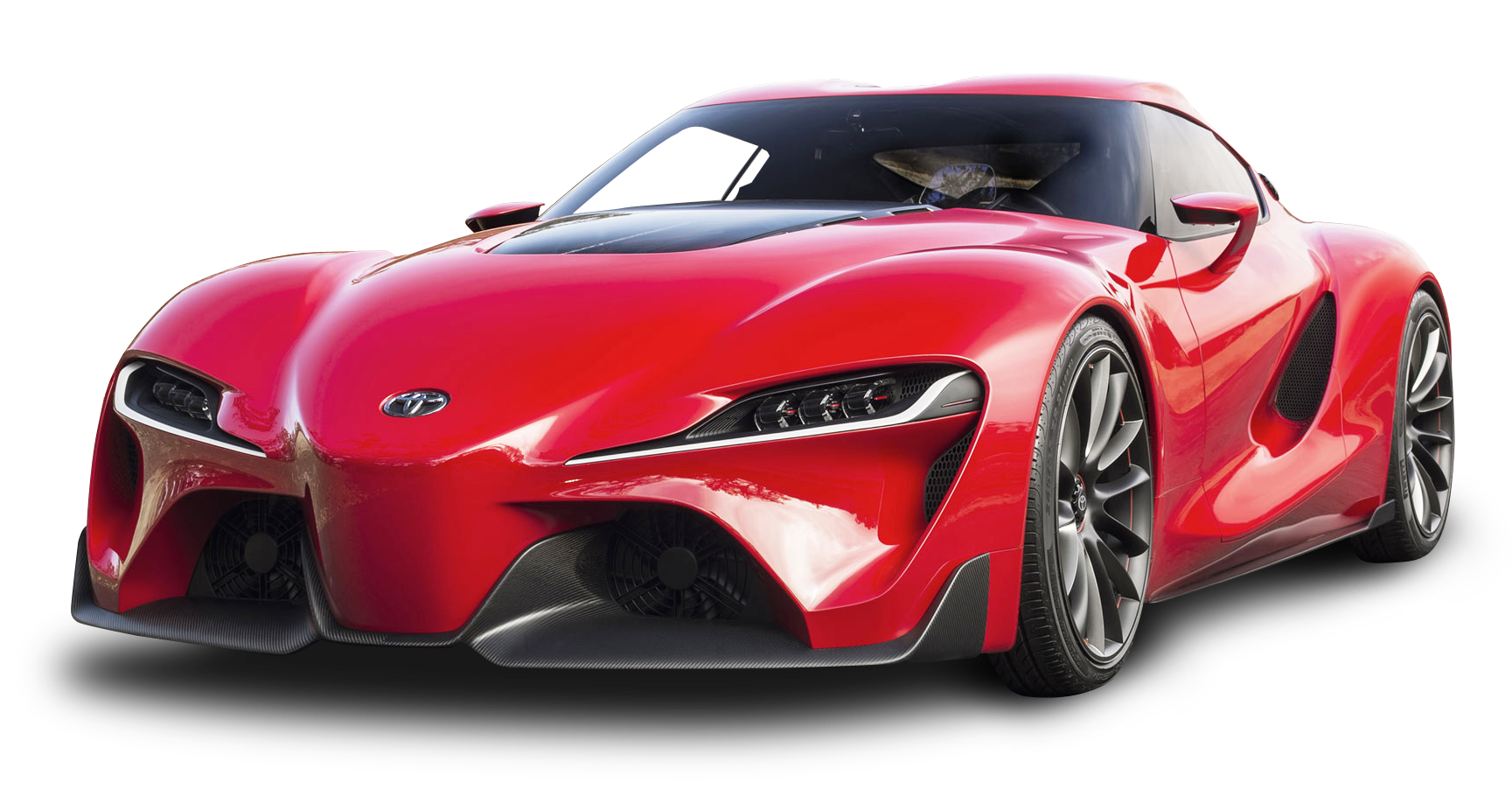 Red Toyota FT 1 Car