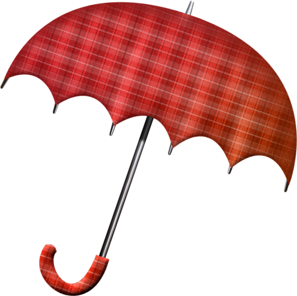 Red Umbrela PNG Image
