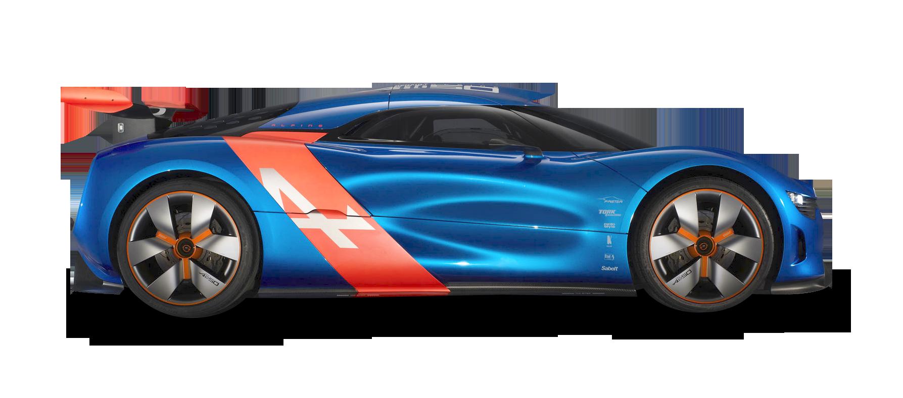 Renault Alpine Car PNG Image