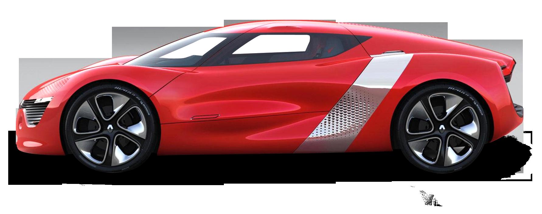 Renault DeZir Car PNG Image