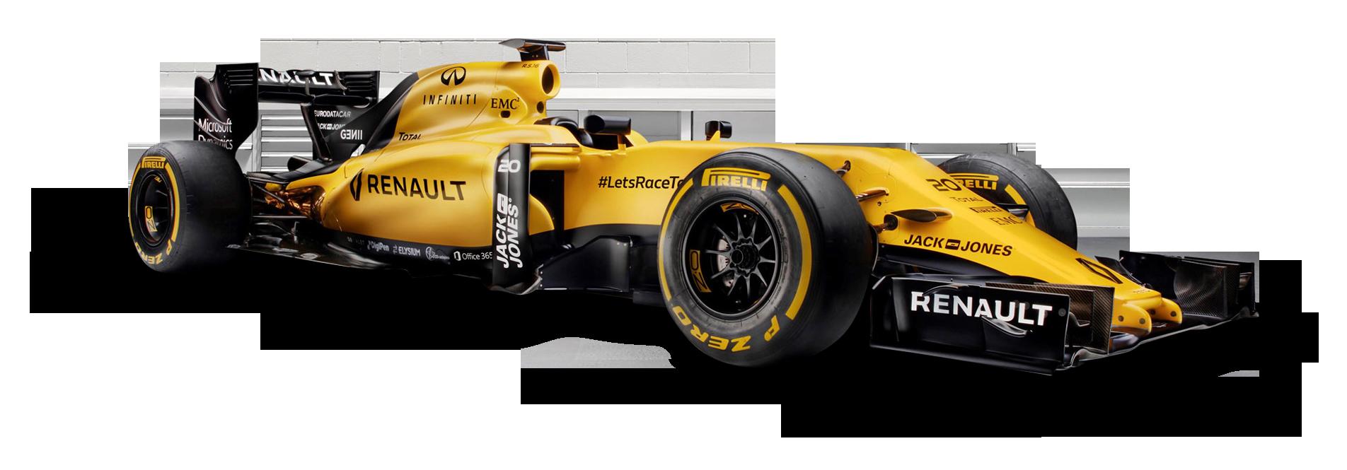 Renault RS16 Formula 1 Race Car PNG Image