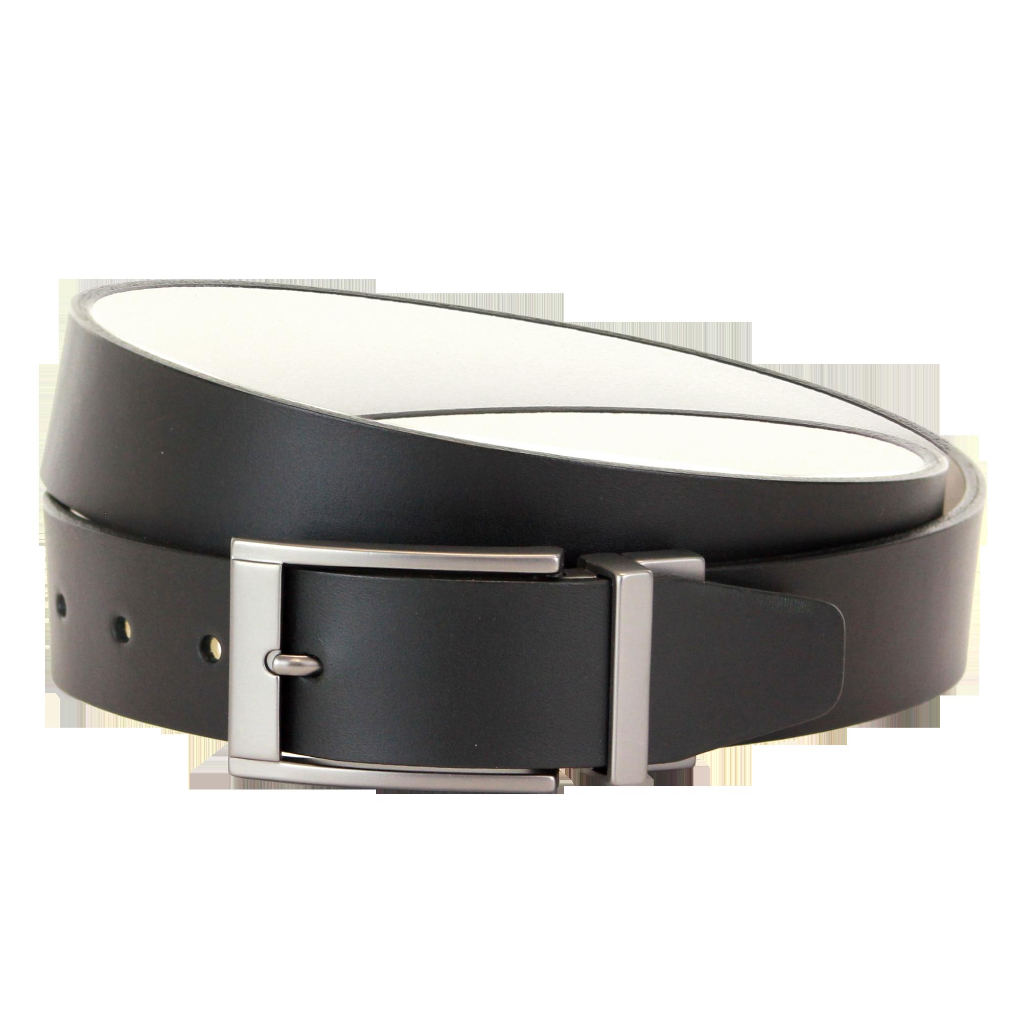 Ridlington Belt - Black & White PNG Image