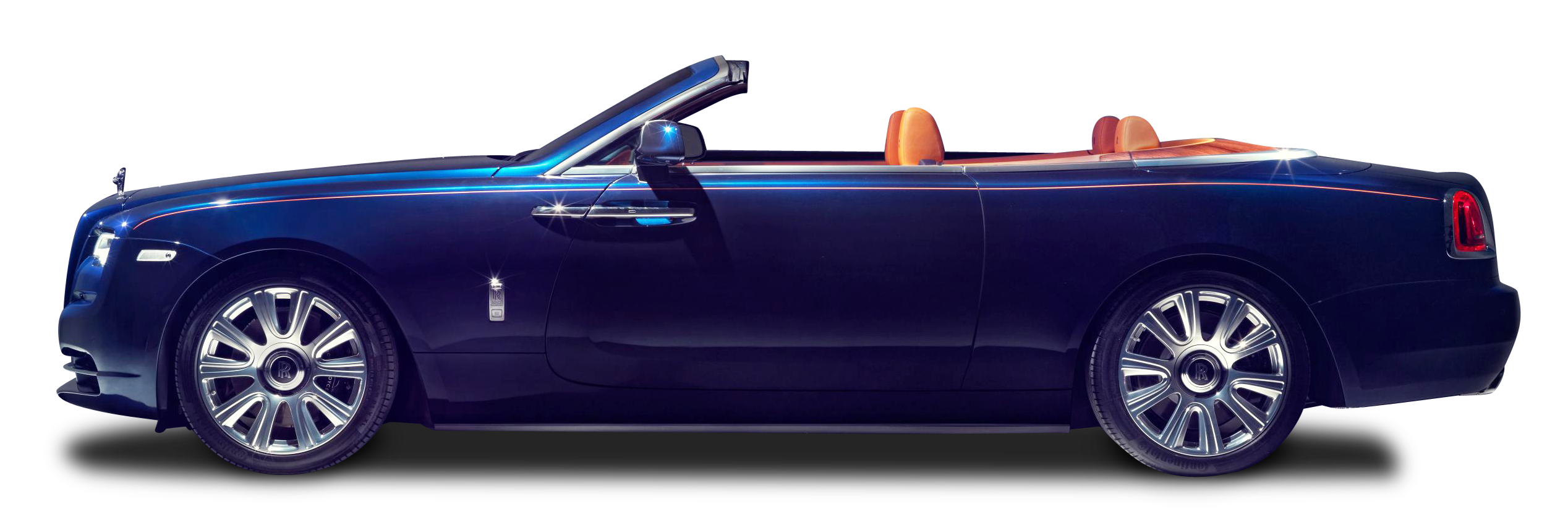 Rolls Royce Dawn Blue Car
