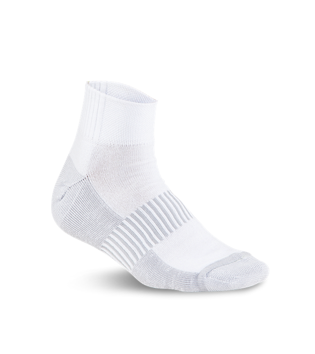 Running White Socks PNG Image