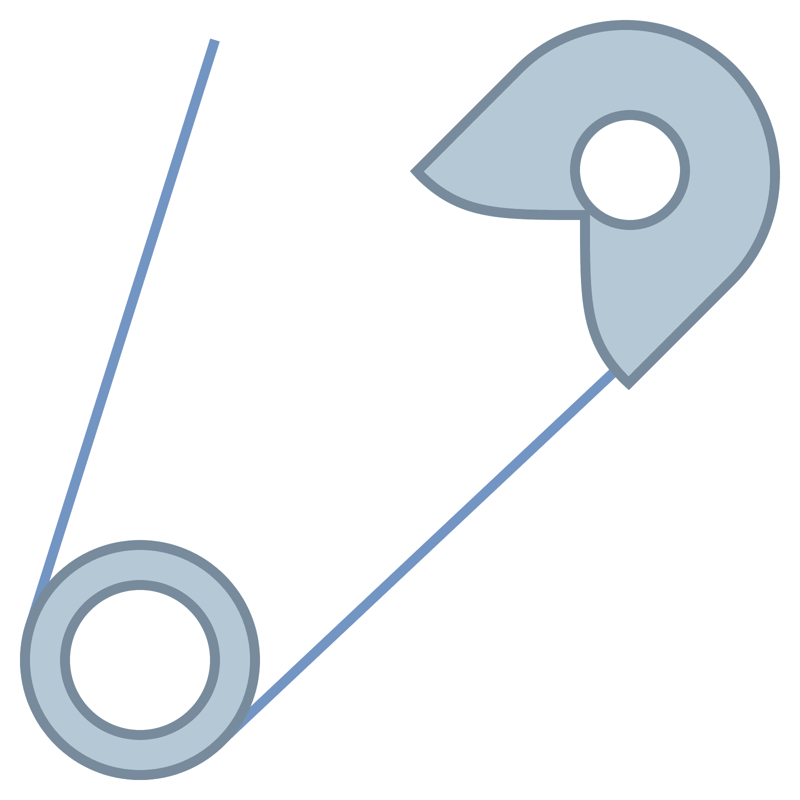Safety Pin PNG Image