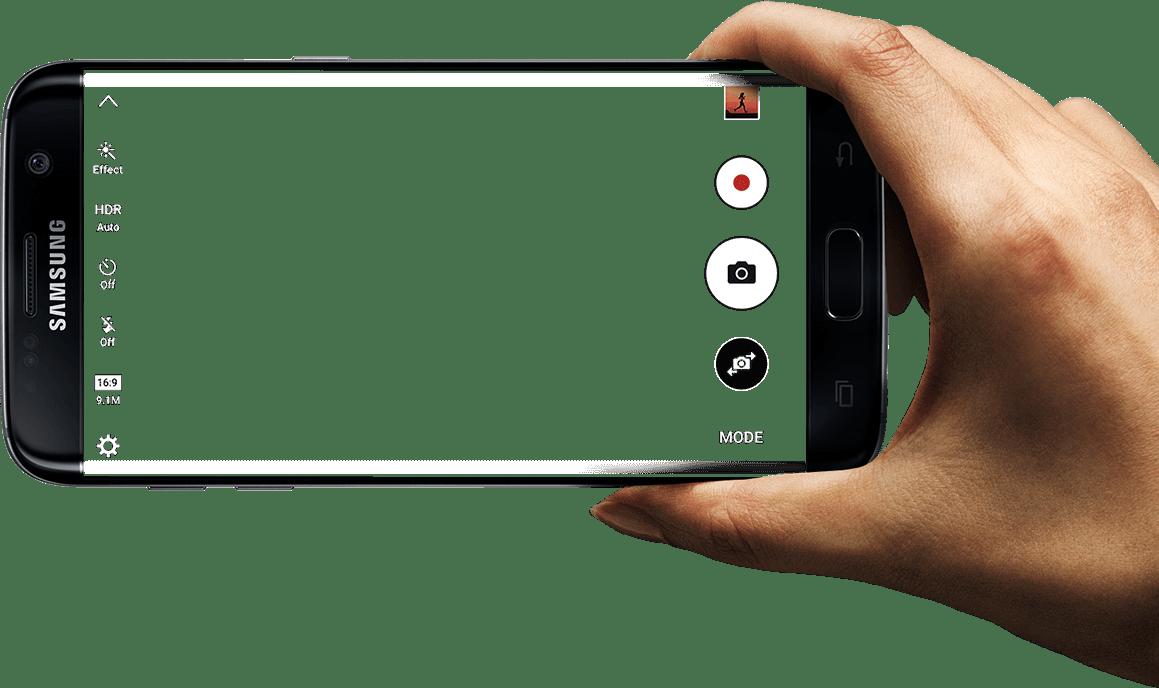 Samsung Galaxy Edge PNG Image