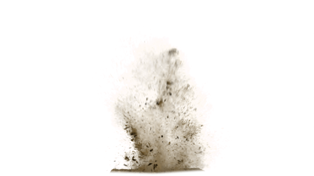 Sand Explosion PNG PNG Image
