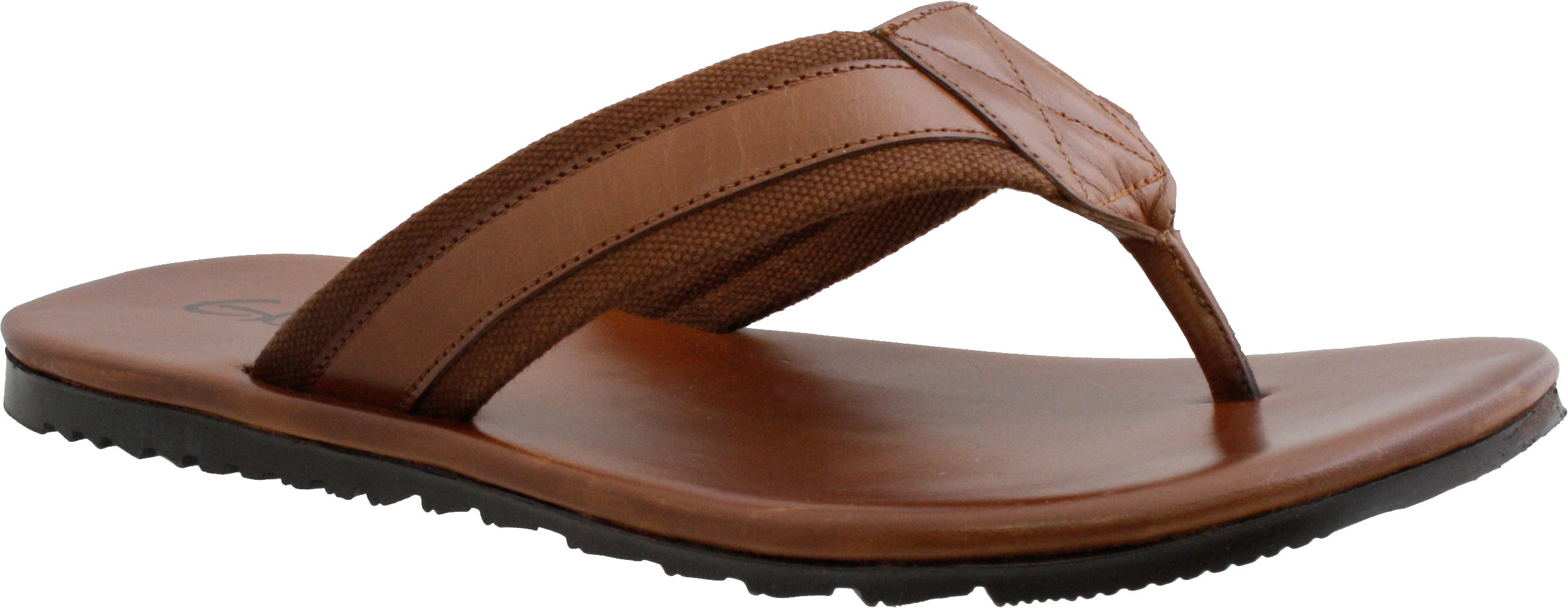 Sandal  Men's Chocolate PNG Image