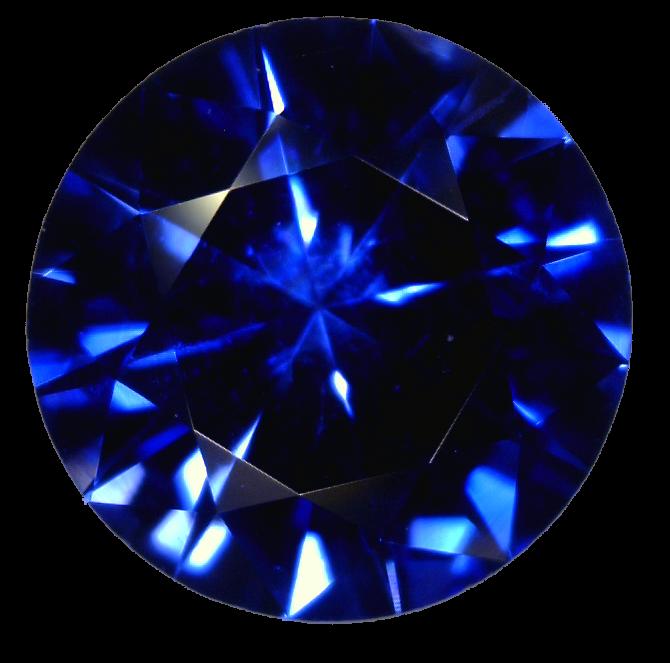 Sapphire | Gem | Stone PNG Image