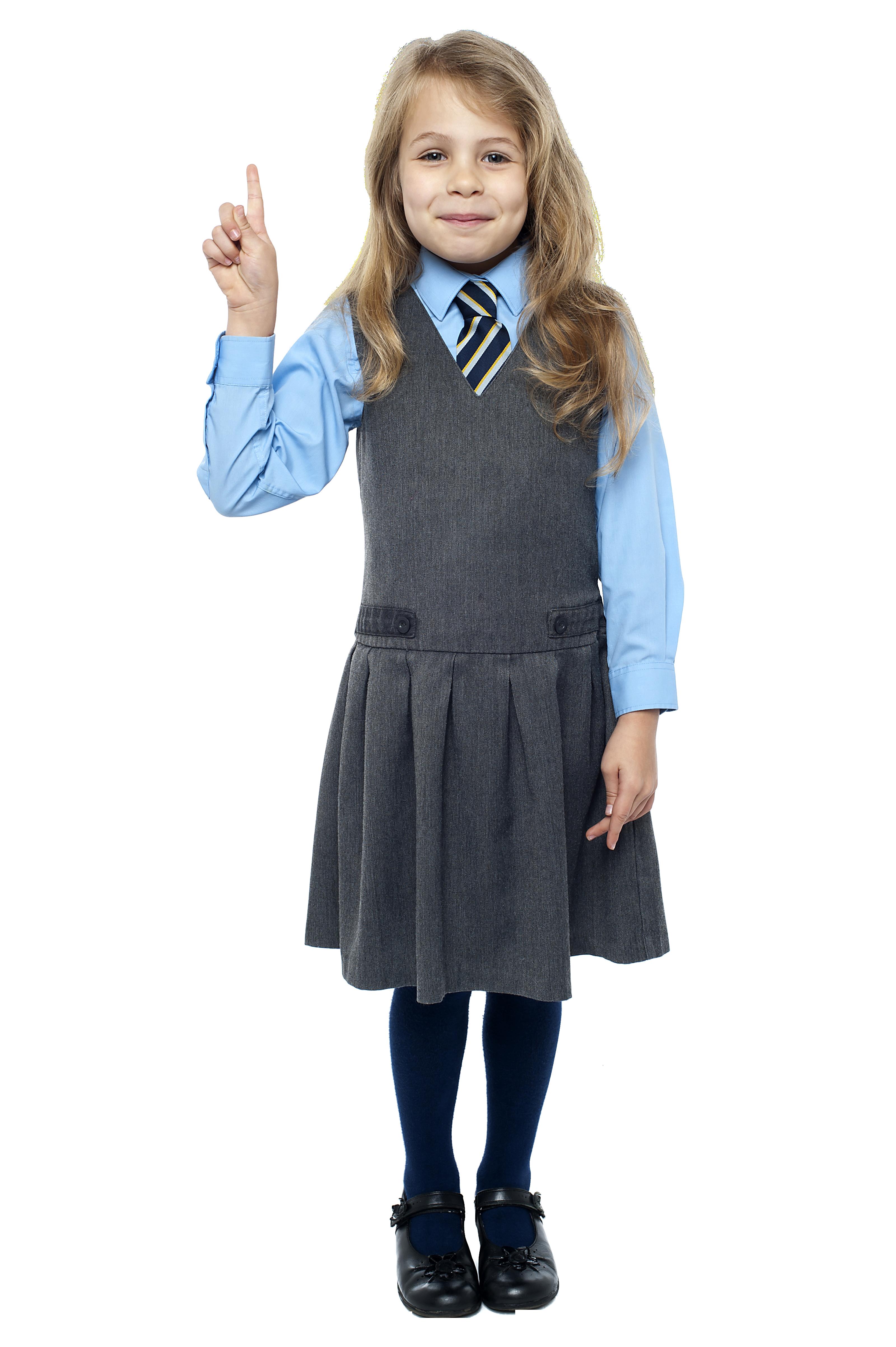 School Girl PNG Image