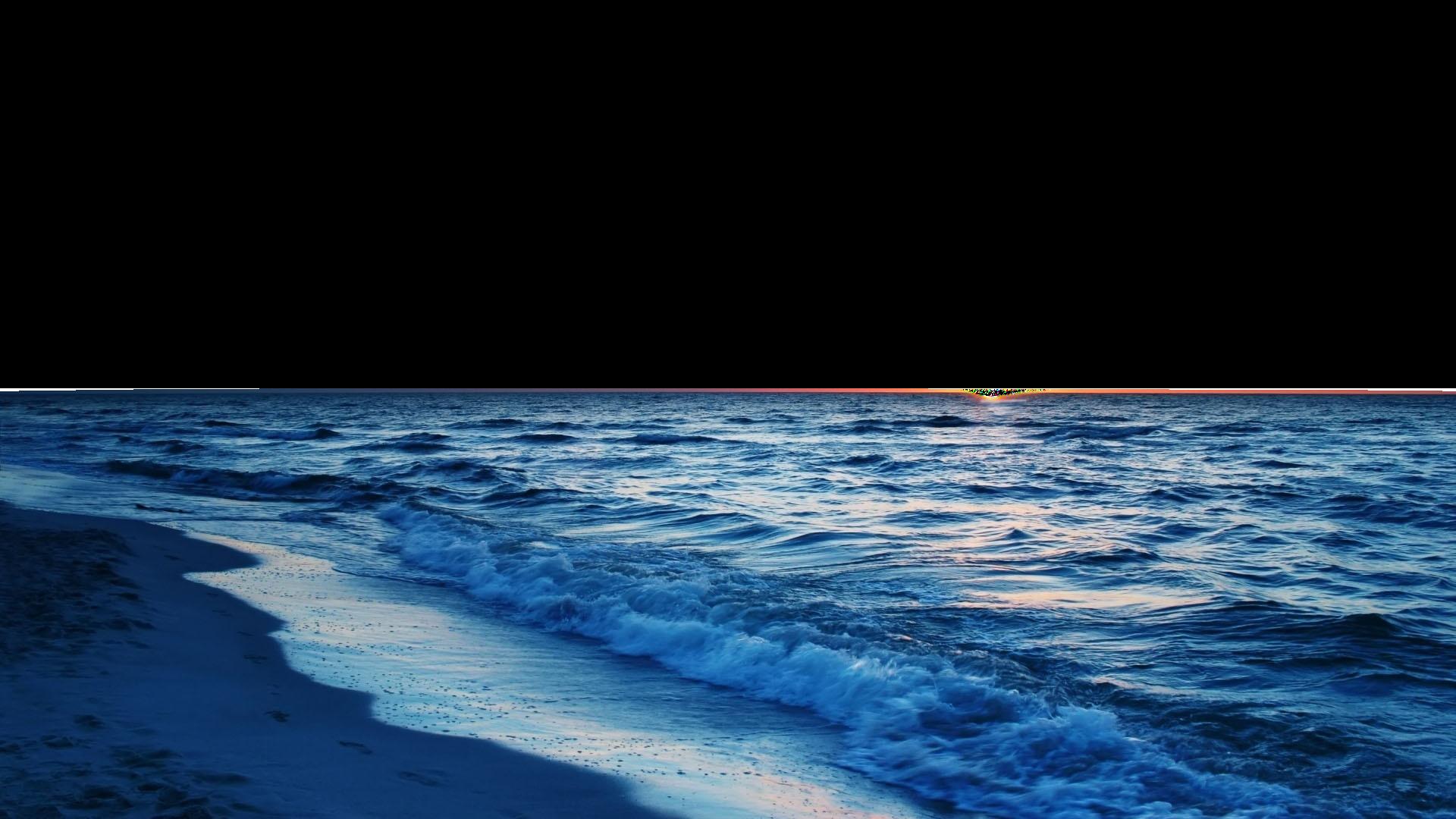 Sea With Beach