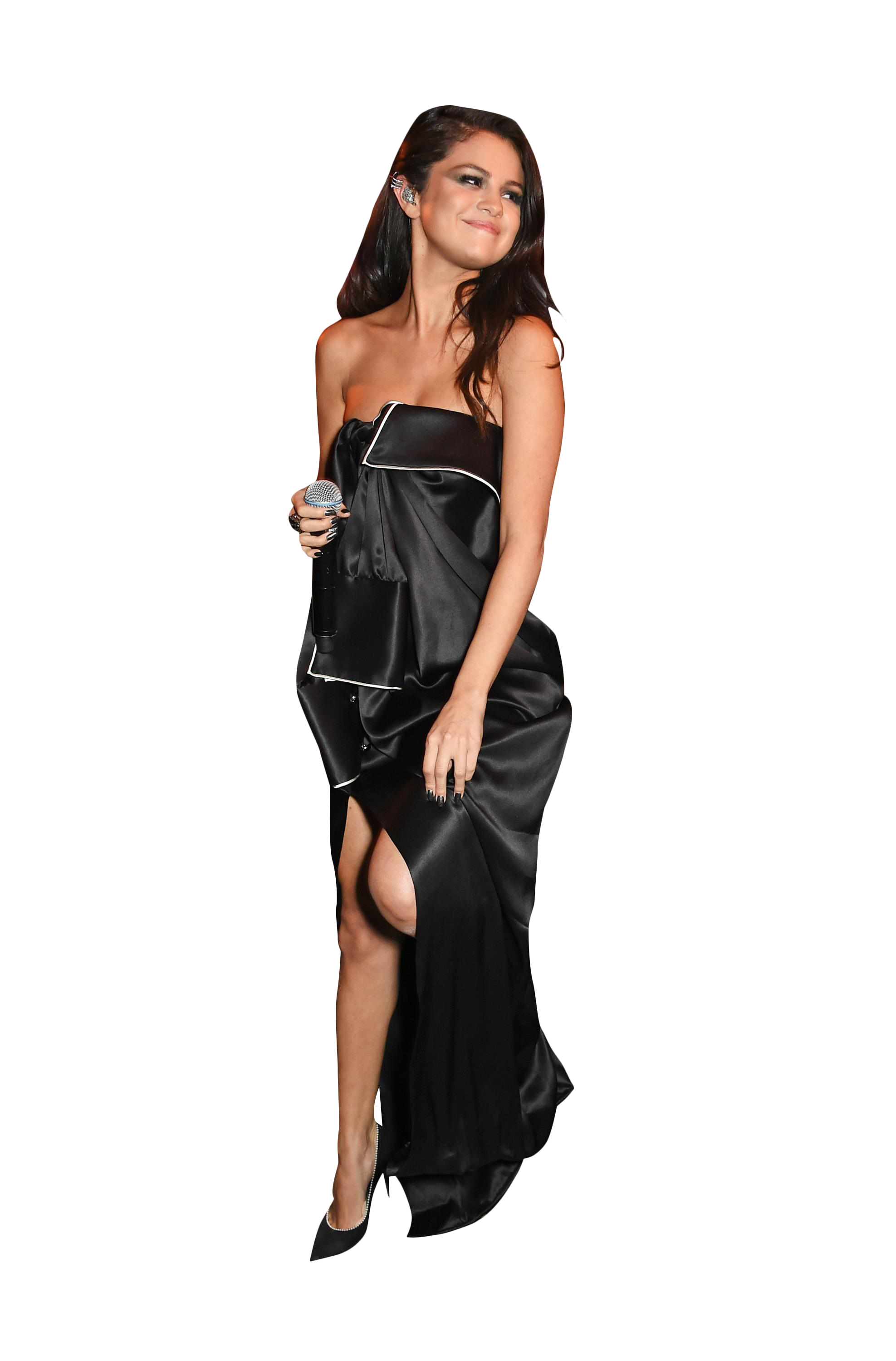 Selena Gomez Black Dress