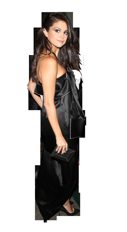 Selena Gomez Black Dress