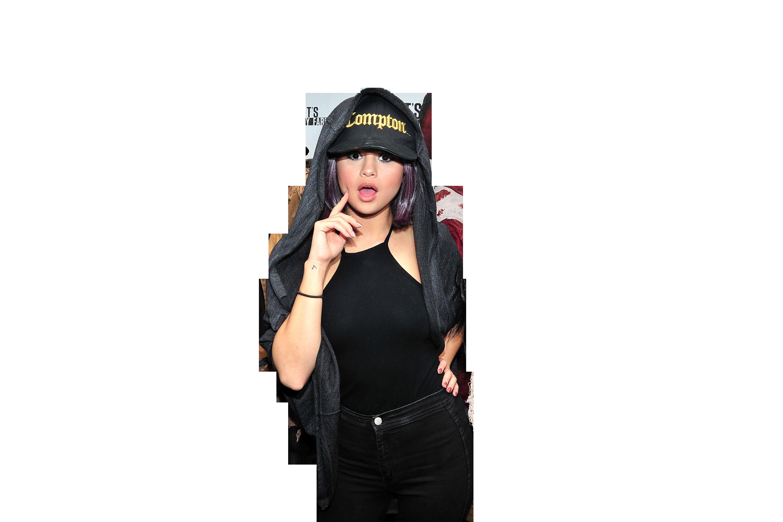 Selena Gomez Hoodie PNG Image