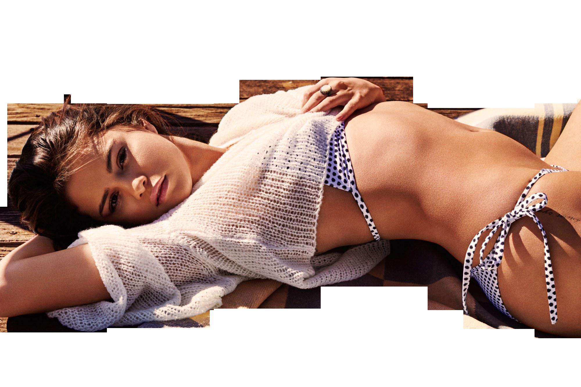 Selena Gomez in Bikini Hot PNG Image