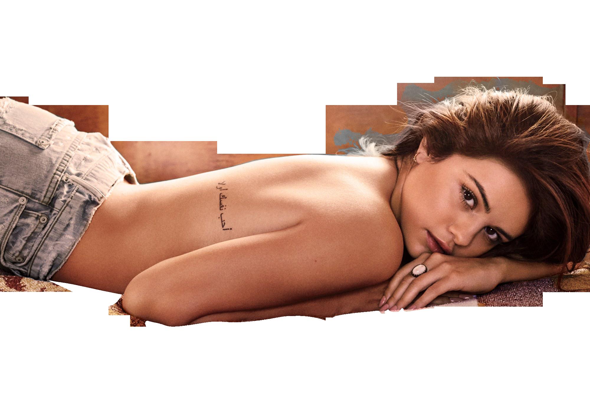 Selena Gomez without Bikini PNG Image