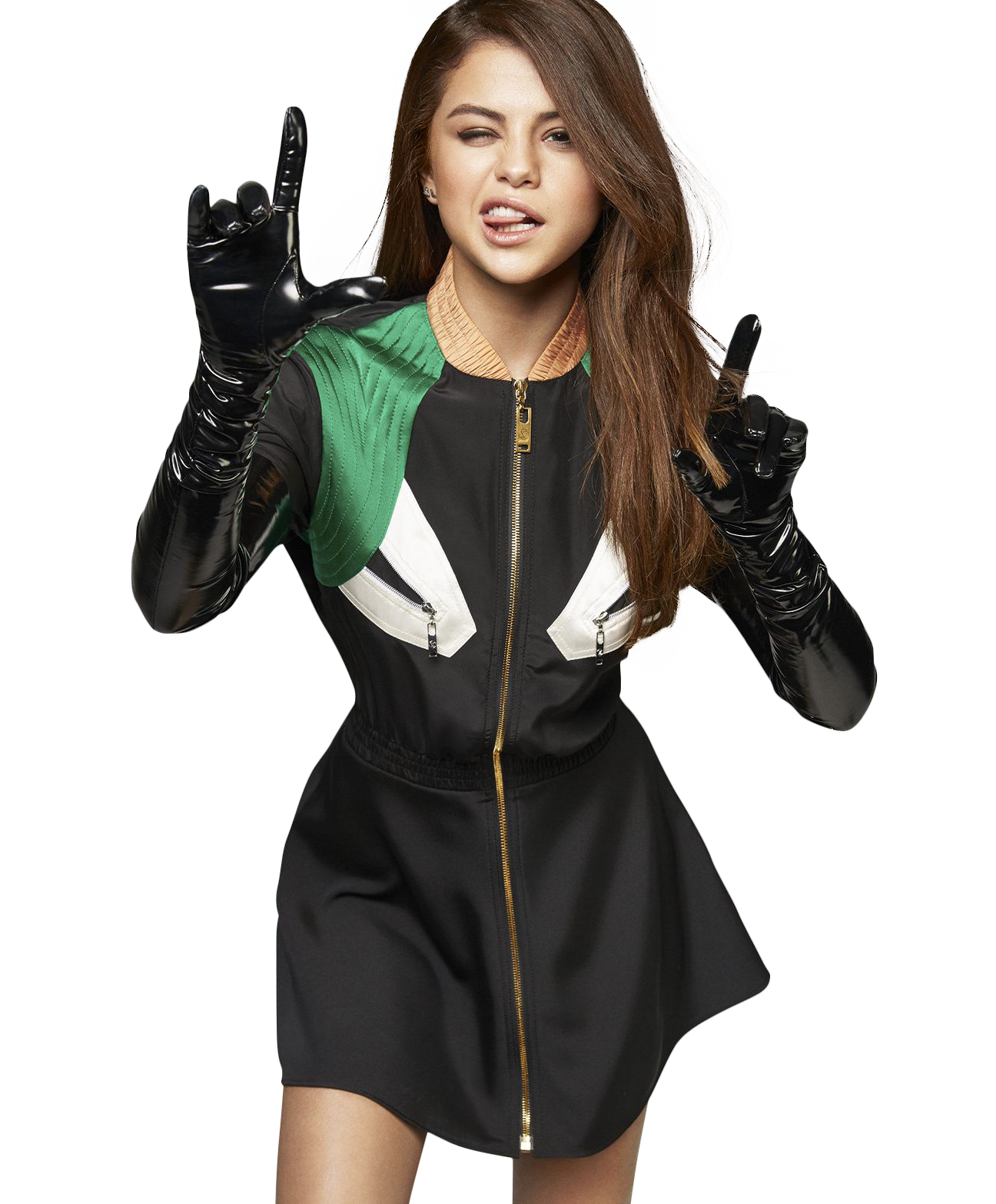 Selena Gomez Looking Hot PNG Image
