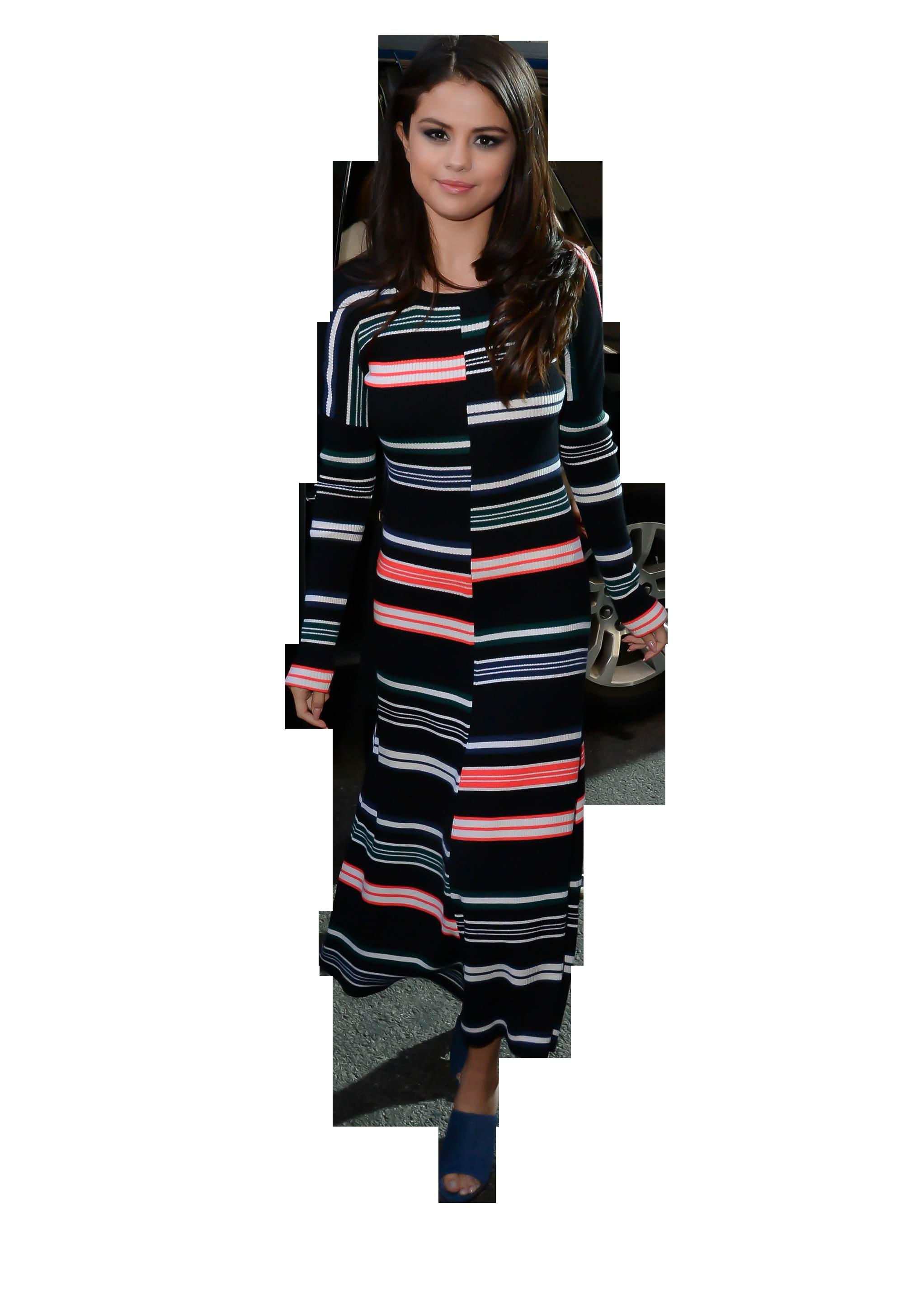 Selena Gomez Walking PNG Image