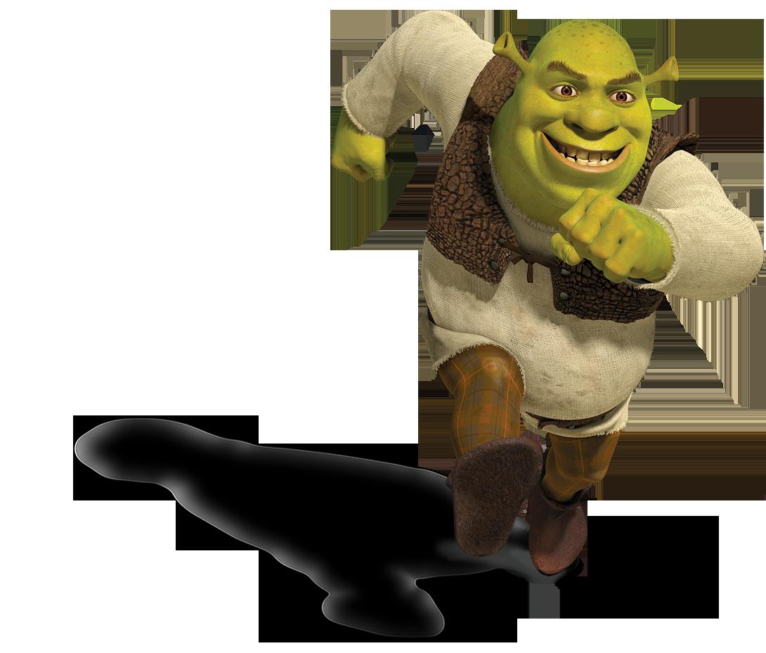 Shrek Running