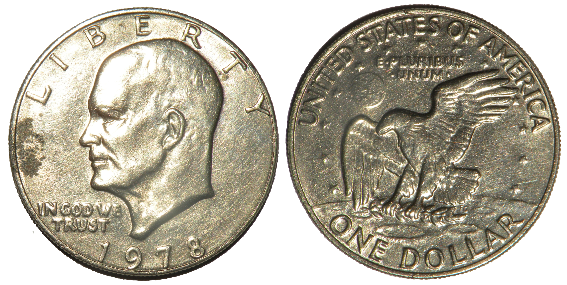 Silver Coin PNG Image