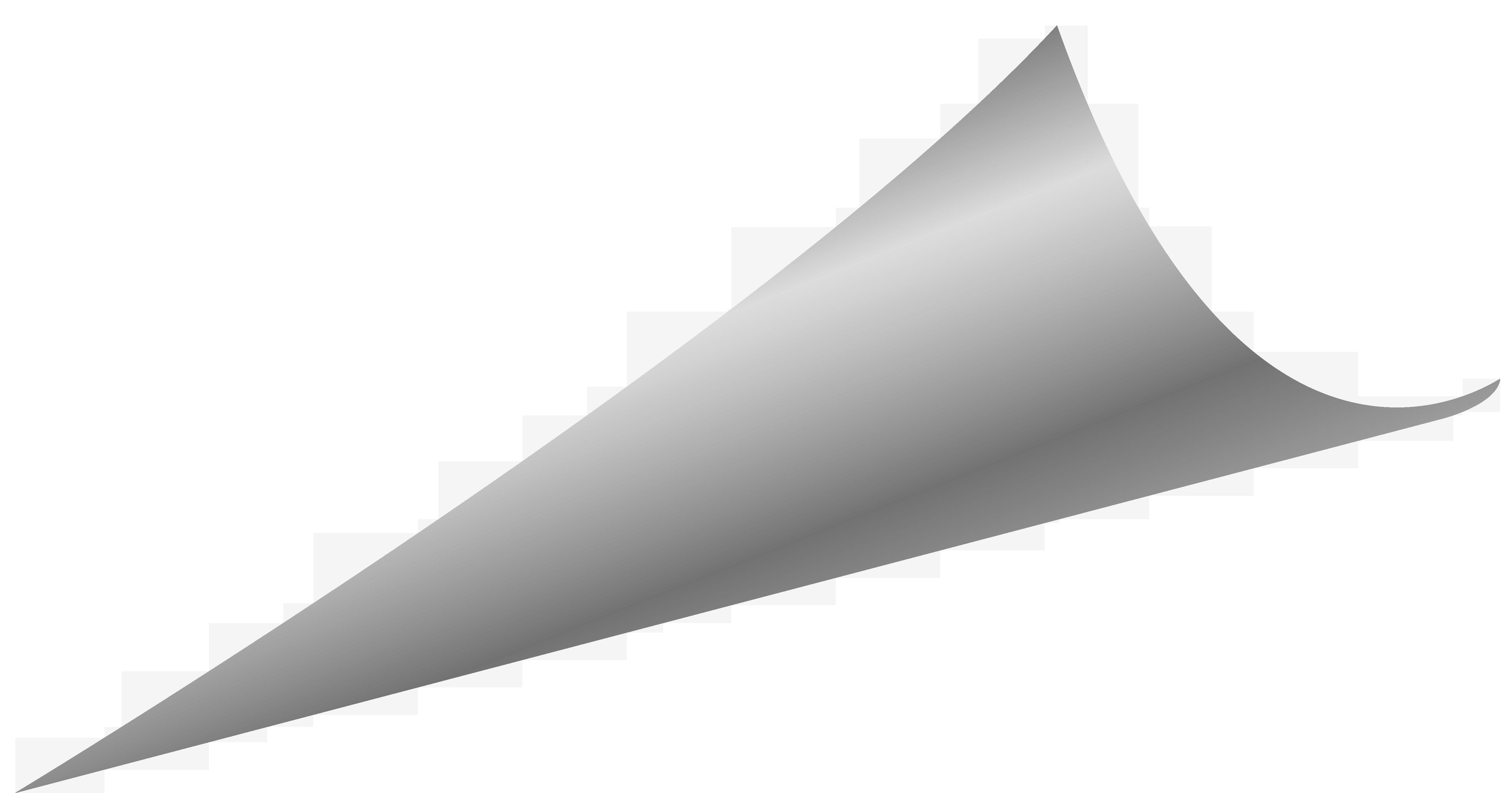 Silver Corner PNG Image