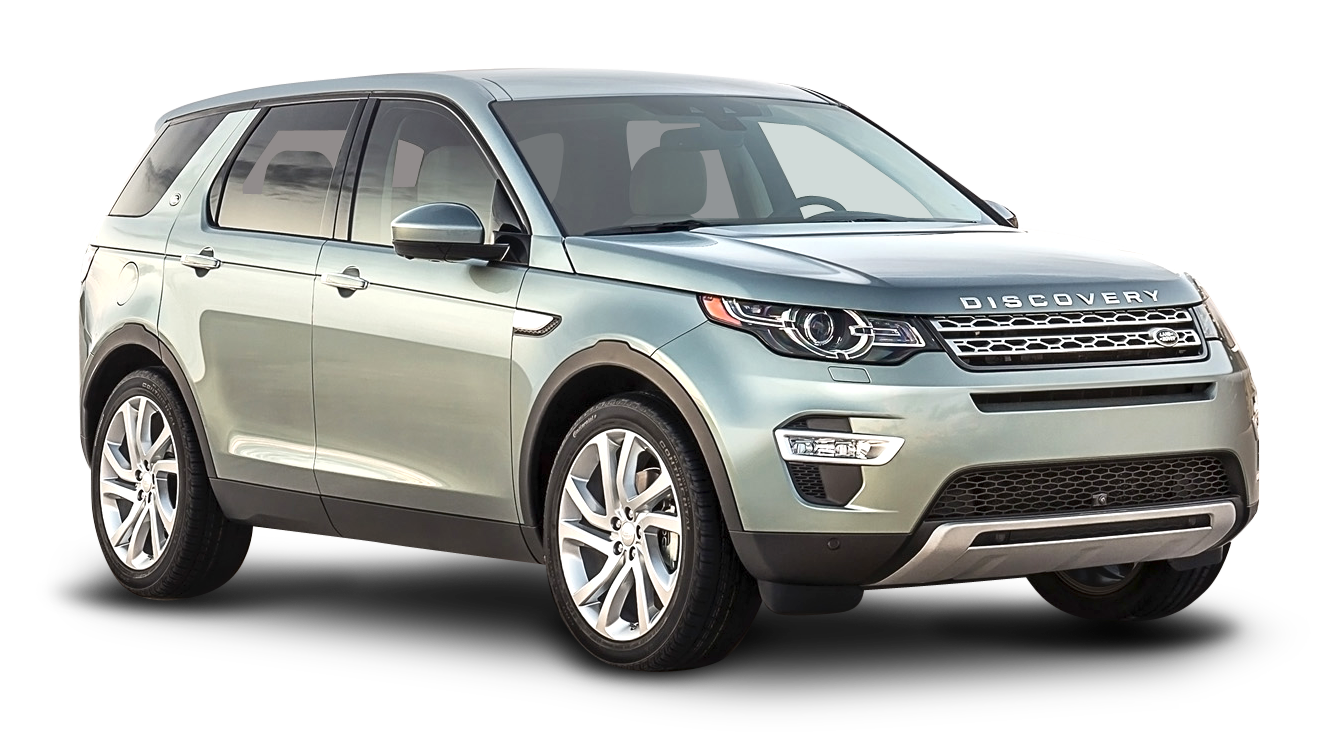 Silver Land Rover Discovery Car