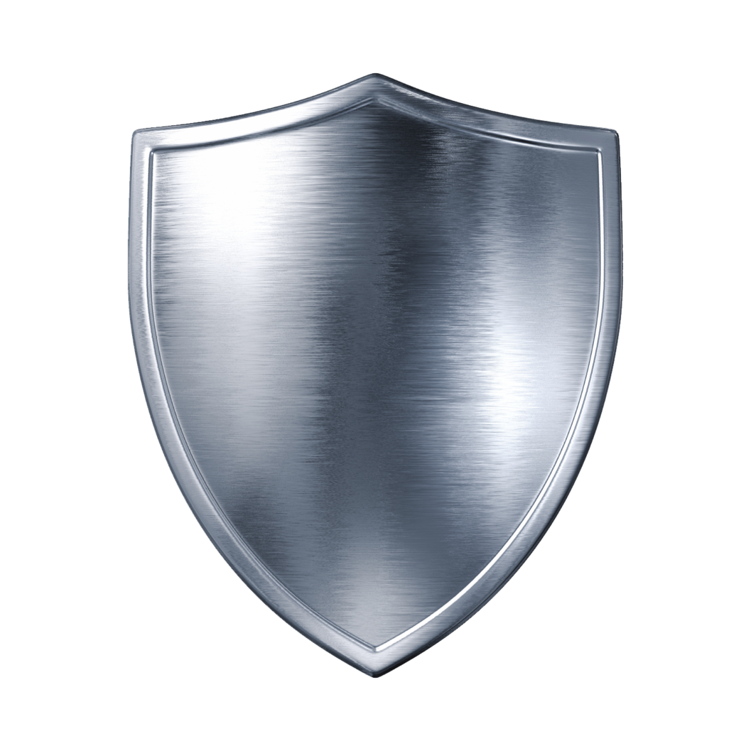Silver Sheild PNG Image
