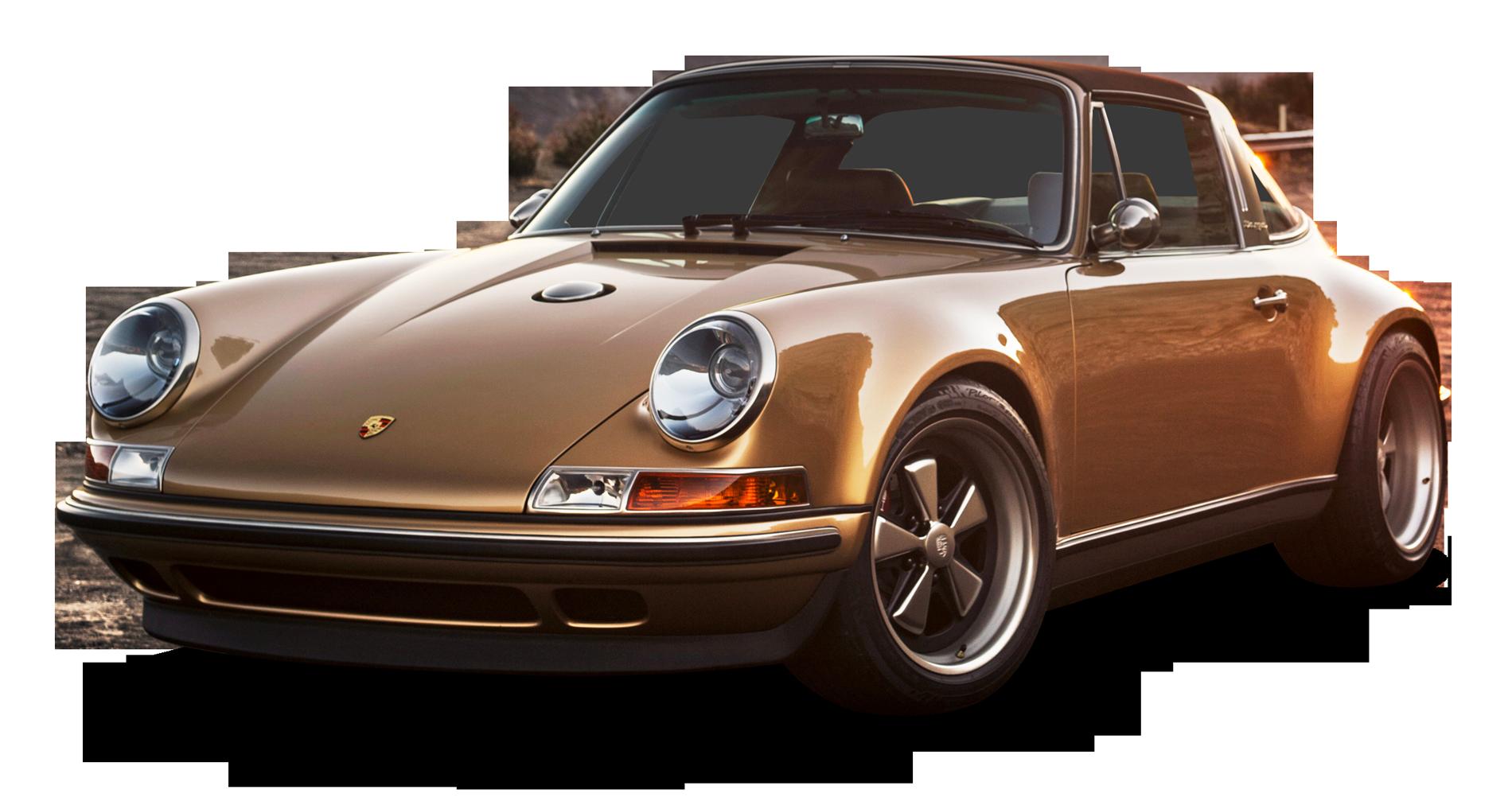 Singer Porsche 911 Targa Car PNG Image
