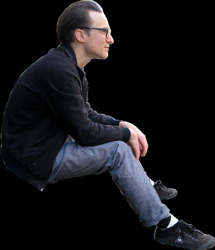 Sitting PNG Image