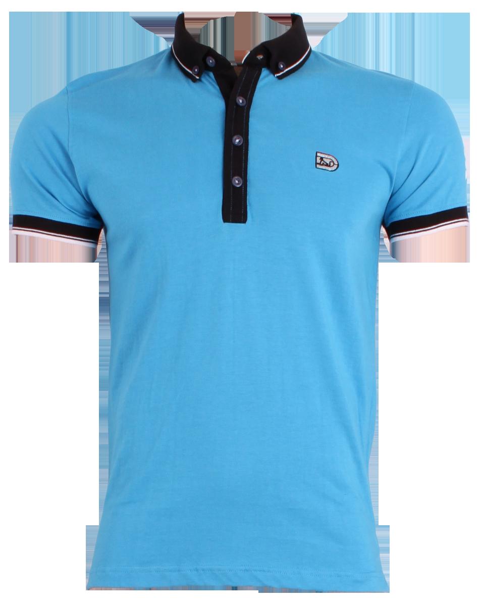 Sky Blue Men's Polo Shirt