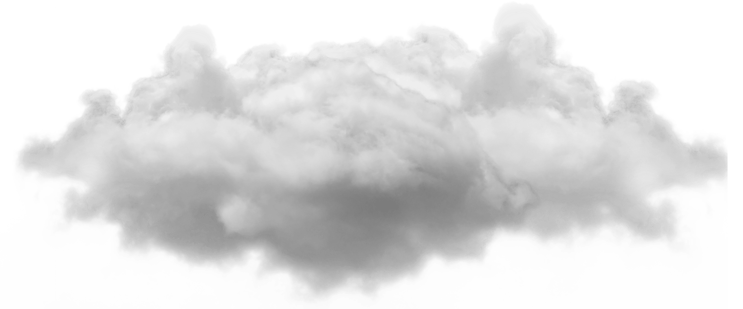 Small Single Cloud PNG Image