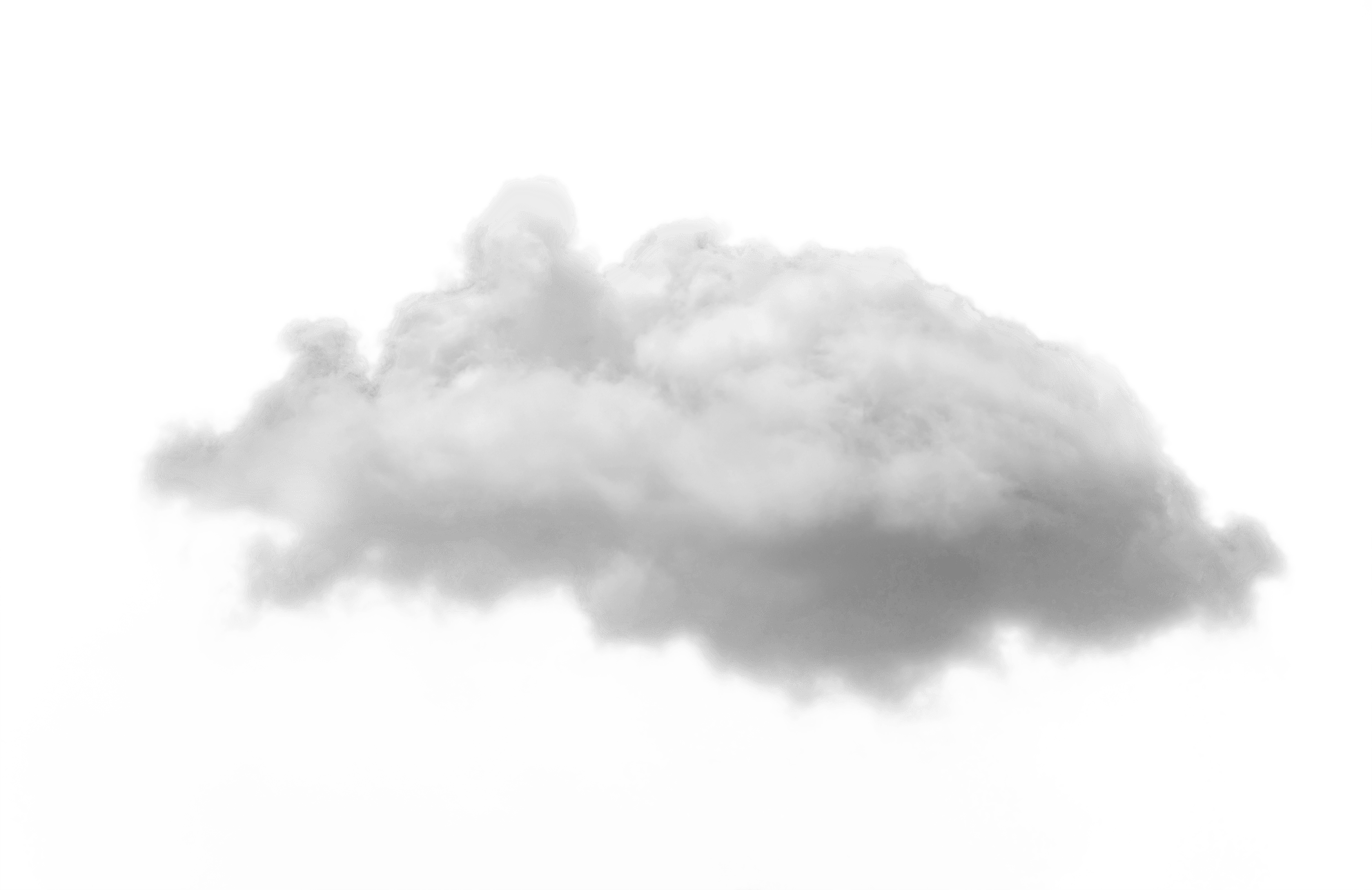 Small White Cloud