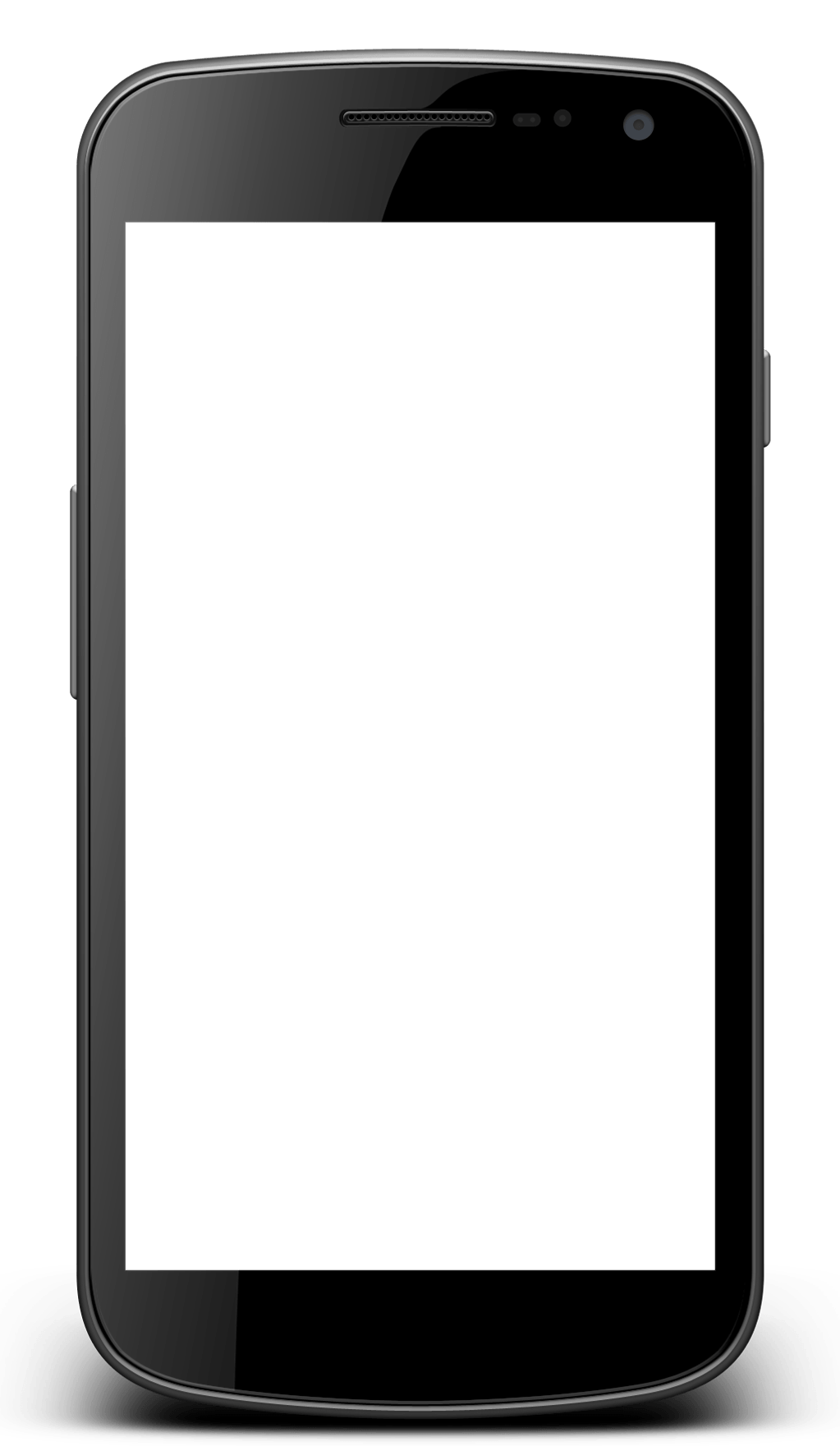 Smartphone with transparent screen