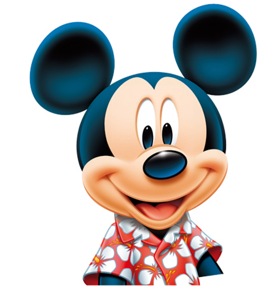 Smiling Mickey PNG Image
