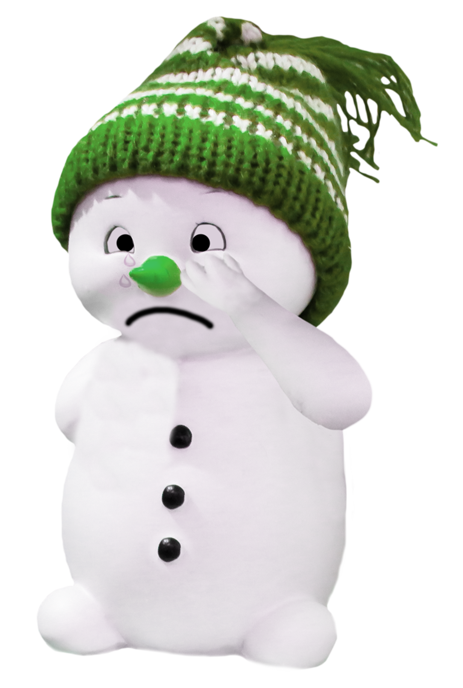 Snow Man PNG Image