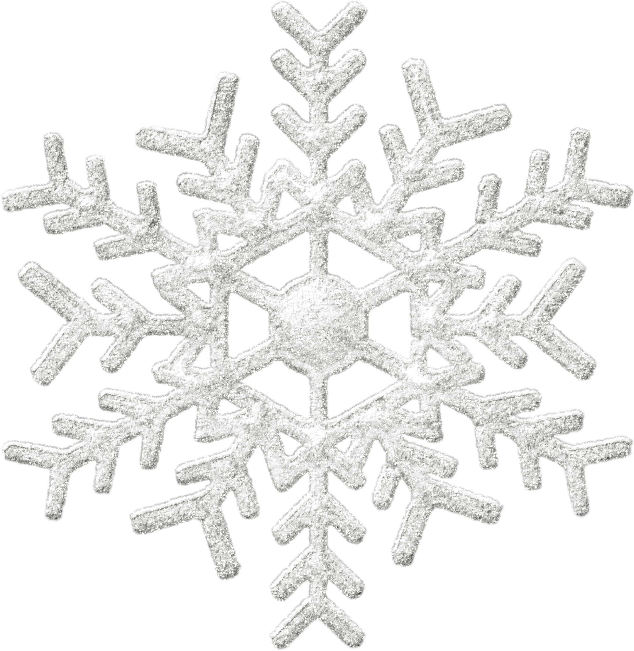 Snowy Snowflake Winter PNG Image