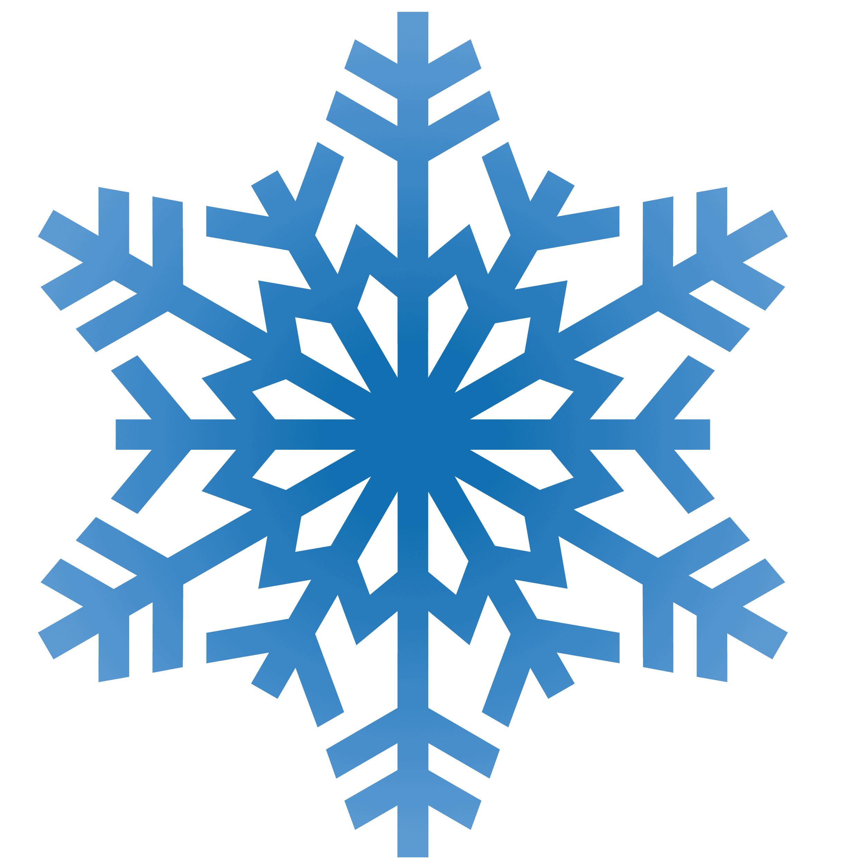 Snowflake Blue Winter PNG Image