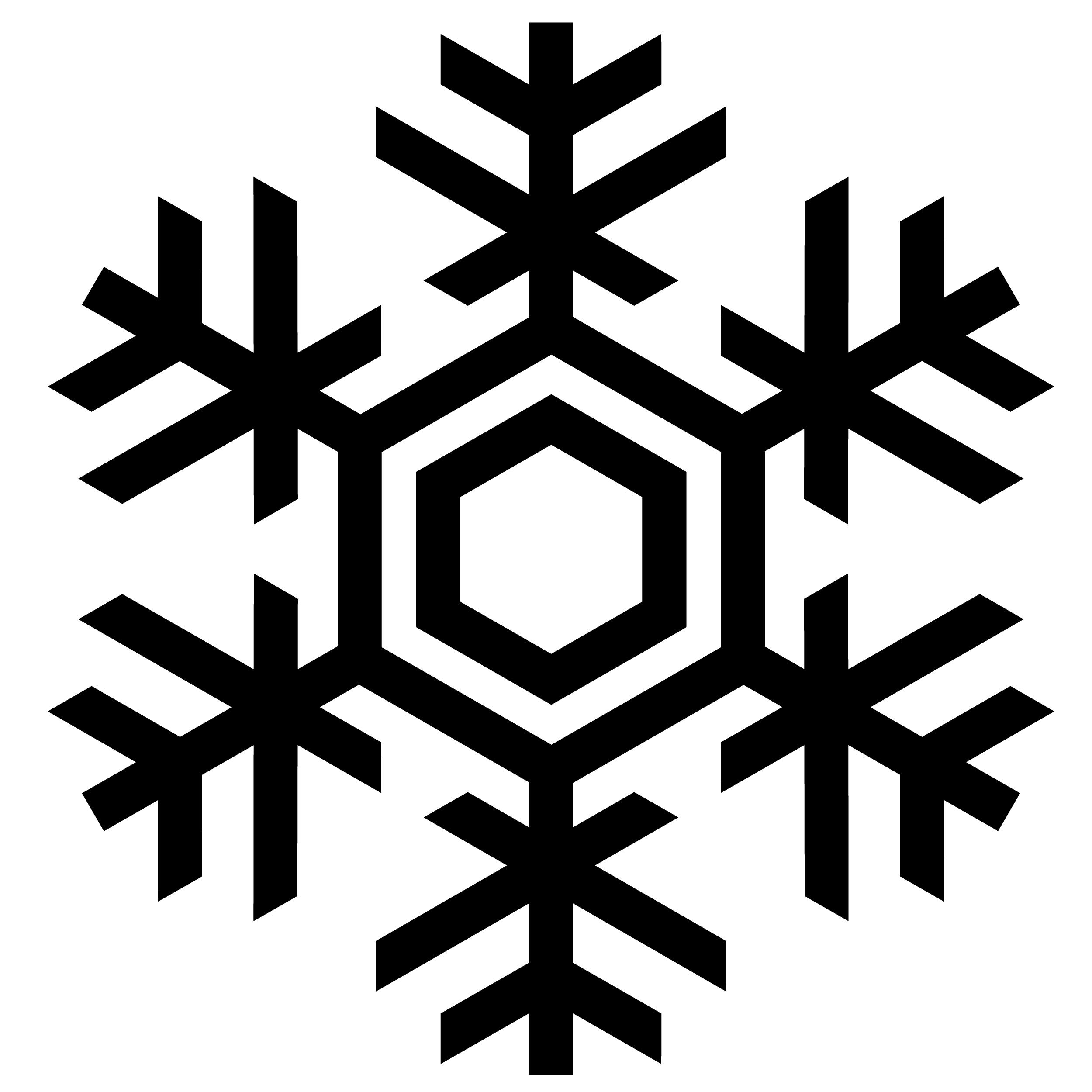 Snowflake Freezing PNG Image