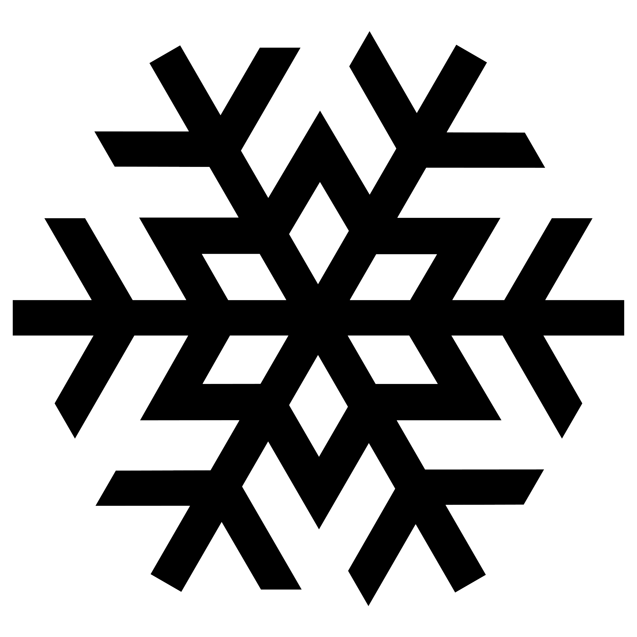 Snowflake Frost PNG Image