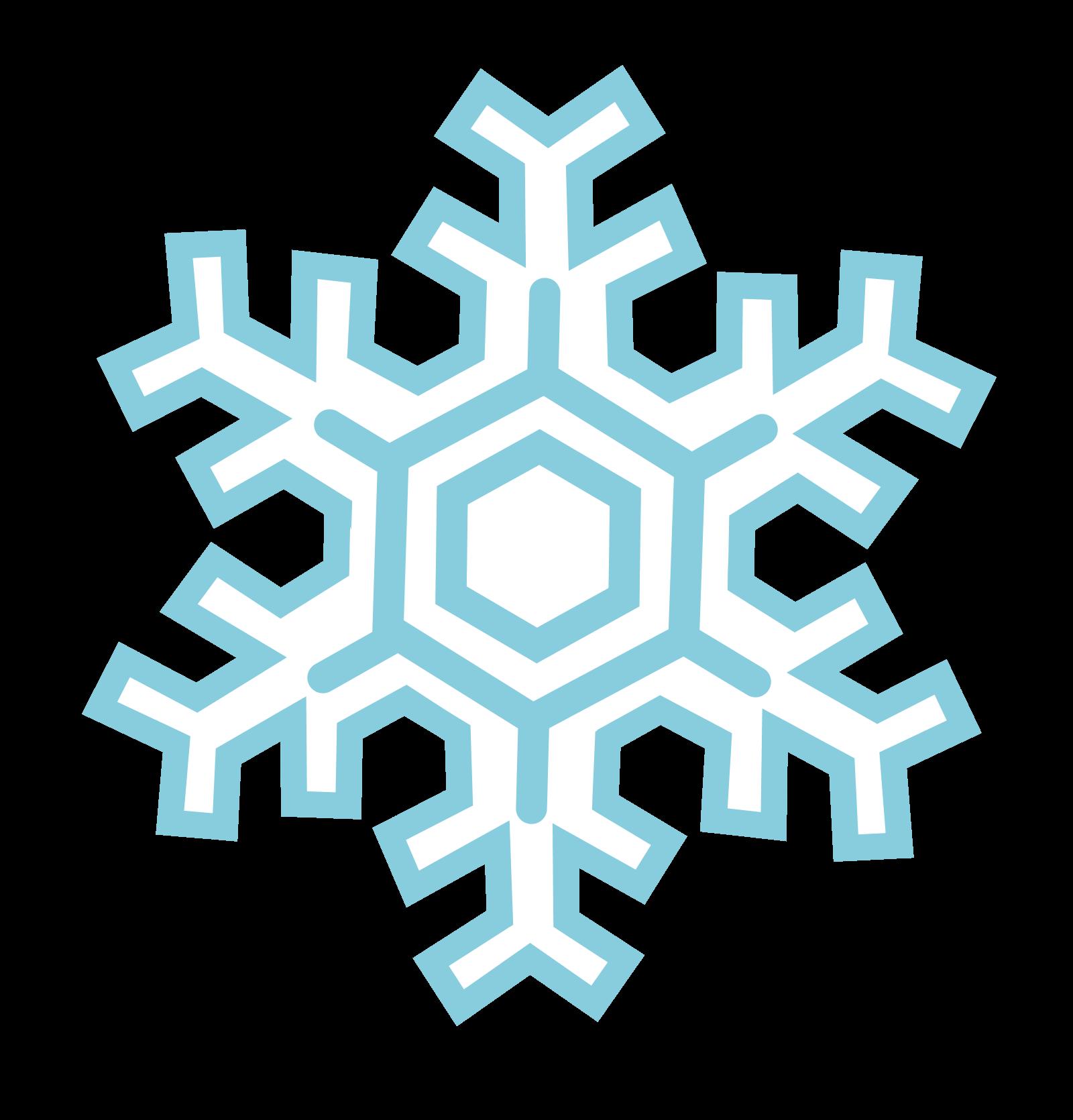Frozen Snowflake PNG Image