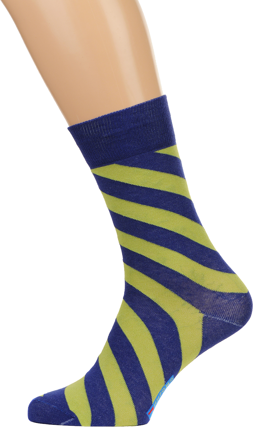 Socks Blue Yellow